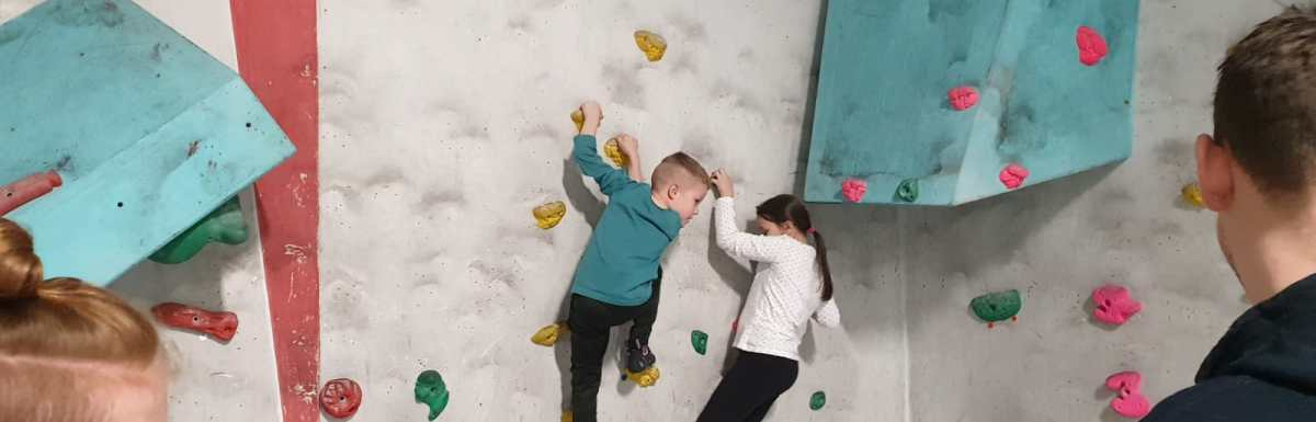 Great children's bouldering session