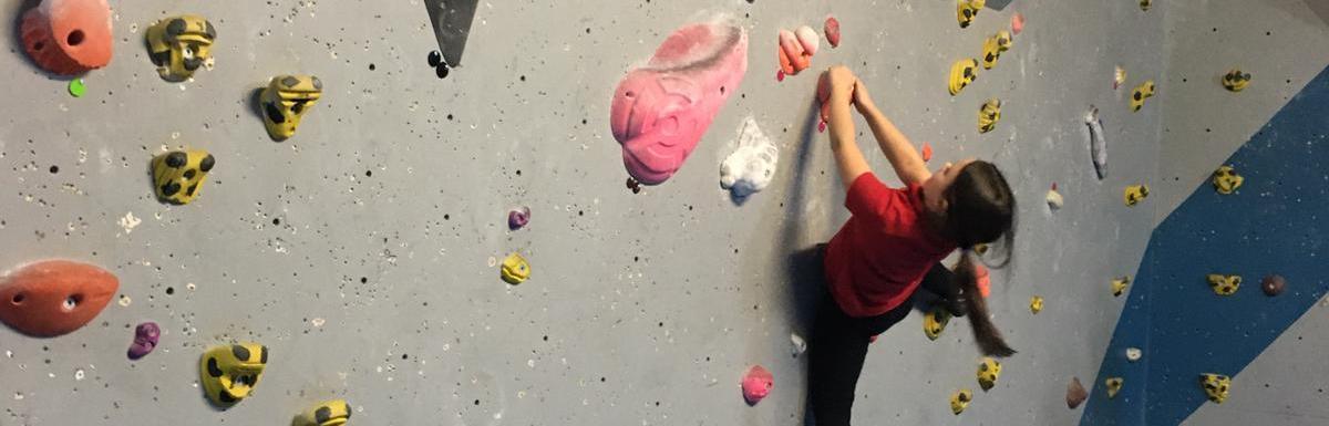 Children enjoy great bouldering