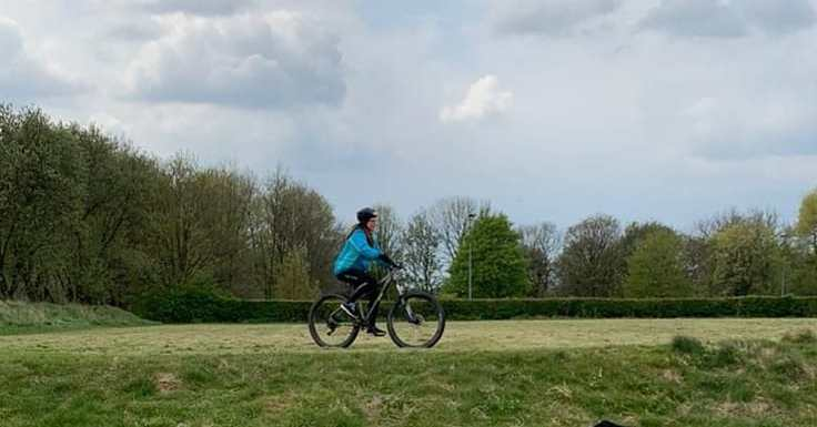 Success for our Over 50's beginners biking group