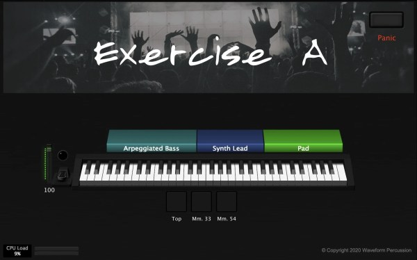 Exercise A - MainStage