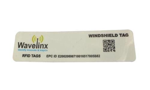 Speedo-D: Destructible UHF Windshield Tag