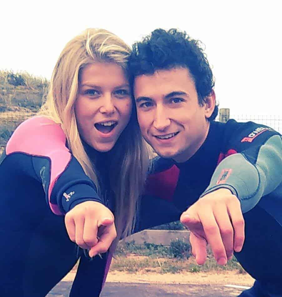 Lucie et Guillaume surflife