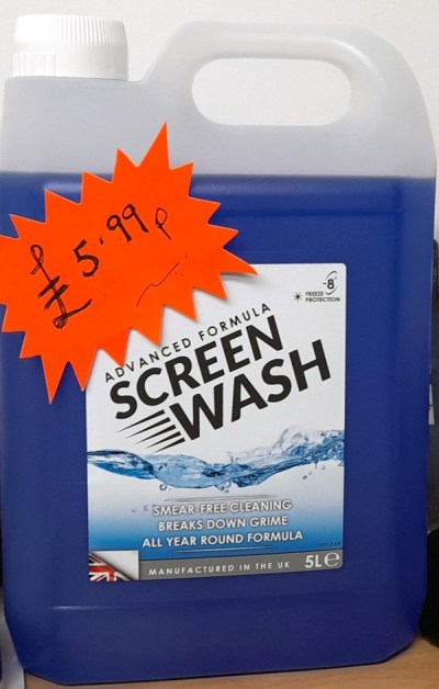 Advanced Formula Windscreen Wash