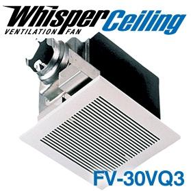 panasonic fans whisperceiling fv 30vq3 bathroom ventilation exhaust fan 290 cfm 2 0 sones 6 inch duct