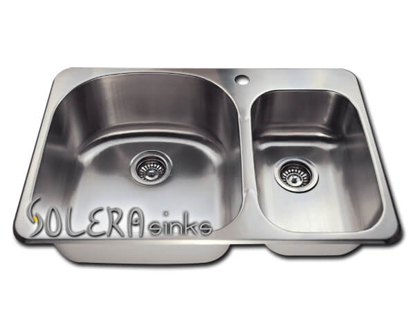solera kitchen sinks stainless steel