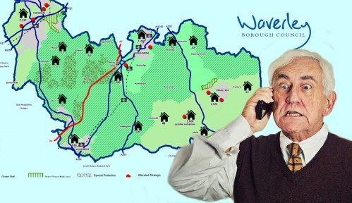 Has Mr Angry of Haslemere finally picked up his phone to his Waverley councillor?