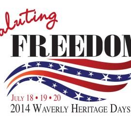 Waverly Heritage Days 2014 - Saluting Freedom
