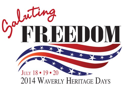 Waverly Heritage Days 2014 - Saluting Freedom