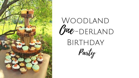 woodland onederland wonderland first birthday party