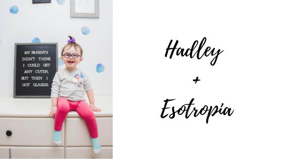 esotropia and amplyopia in a child