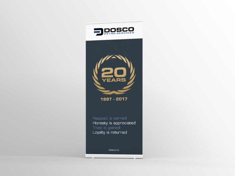 20 jarig bestaan Roll-up banner