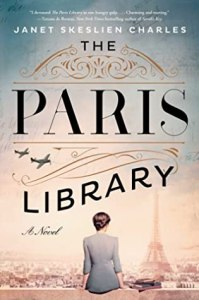 Book cover of The Paris Library by Janet Skeslien Charles