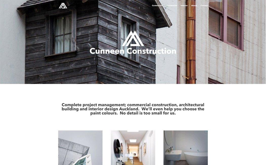 Cunneen Construction Website