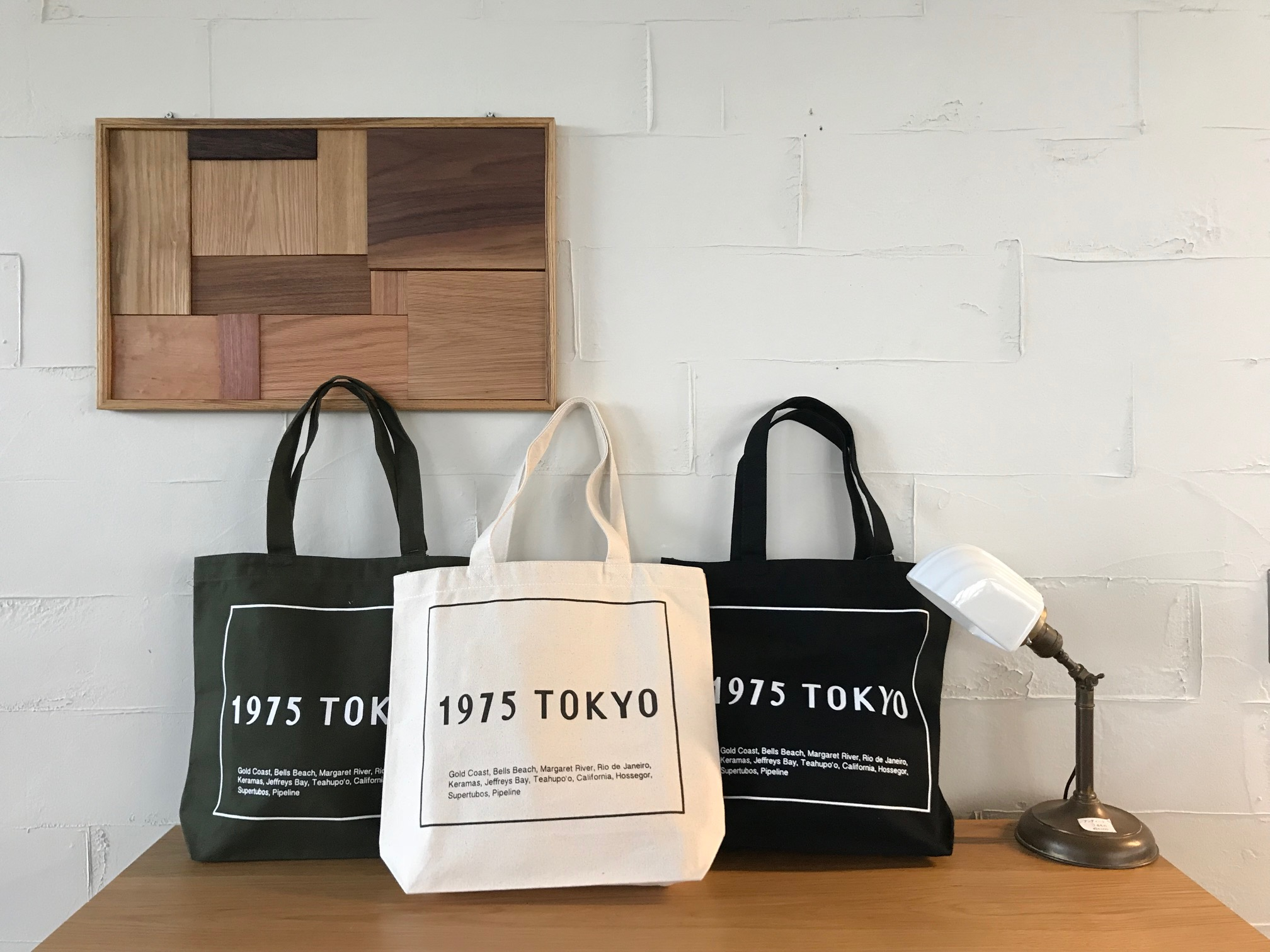 POINTS TOTE BAG // 1975tokyo