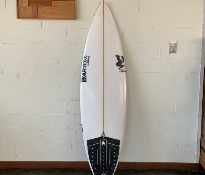 USEDBOARD TNT MODEL 5'8″ // WARNER SURFBOARDS