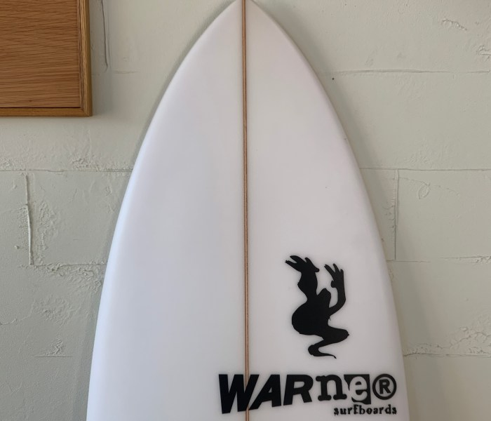 FTR Model 5'8″ x 19 1/2″ x 2 3/8″ // WARNER SURFBOARDS