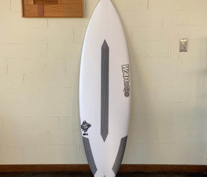 MEXICAN EPS-EPOXY MODEL 5'9″ x 19 3/8 x 2 3/8 // WARNER SURFBOARDS