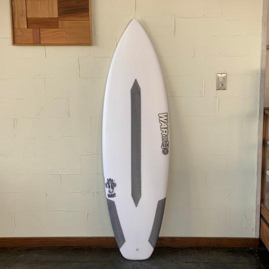 "BANDIT EPS-EPOXY MODEL 5'8"" x 19 3/4 x 2 3/8 // WARNER SURFBOARDS"