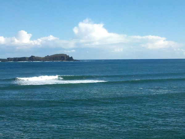 Surfing Mundaka Spain