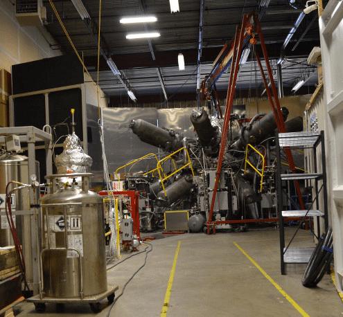 vortex test reactor