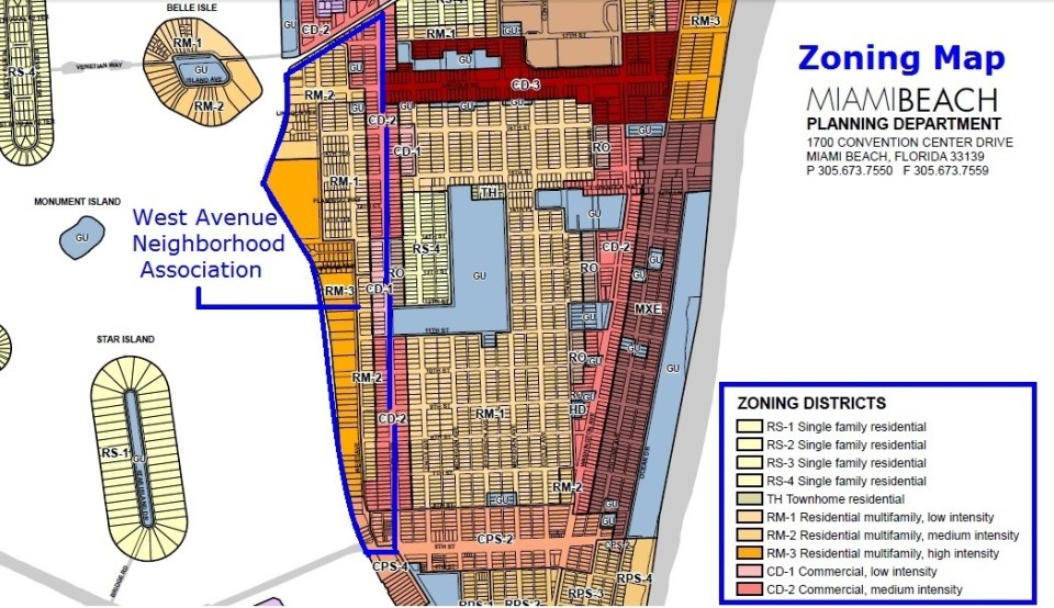 zoning map wavna