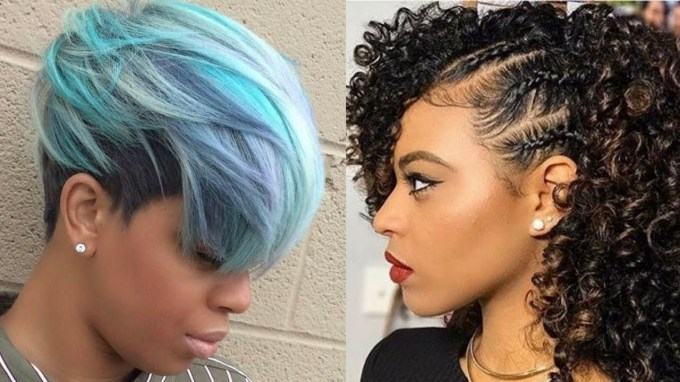 2018 Hairstyle Ideas For Black Women - Youtube for New Hairstyle 2018 Female Black