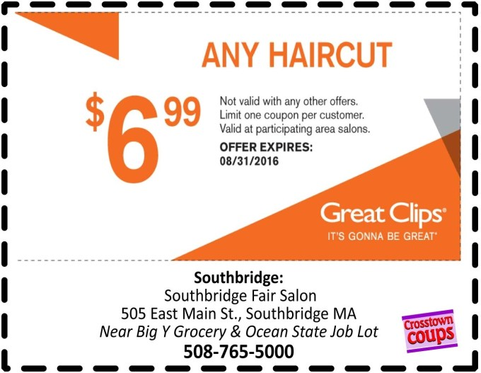 Great Clips Printable Coupons Sep 2018 : Eating Out Deals In Glasgow within Haircut Coupons 2018 Near Me