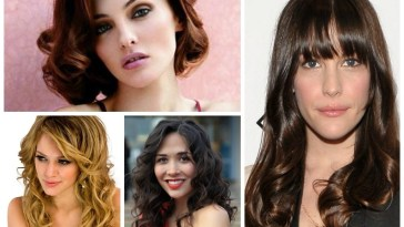 Haircuts For A Long Face - Hair World Magazine pertaining to Haircut For Curly Hair Oval Face Female