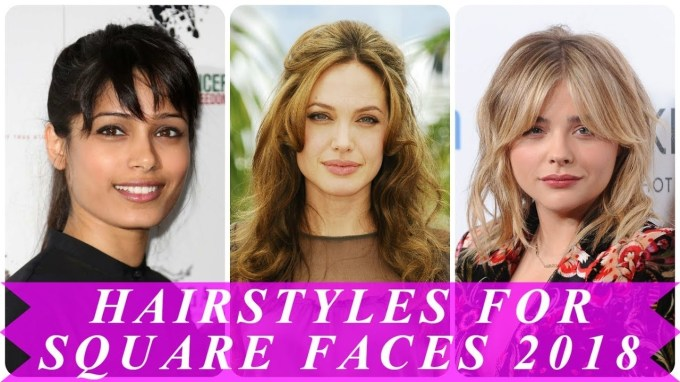 Latest Short Hairstyles For Square Faces Female - Youtube within Haircut For Square Face Female 2018