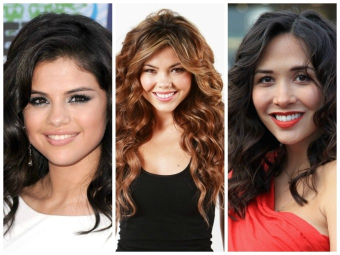 Long Curly Hairstyles For A Round Face - Hair World Magazine inside Hairstyle For Thick Hair Long Face