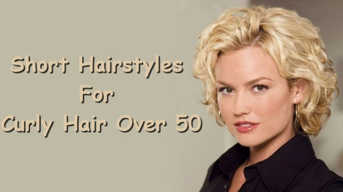Short Hairstyles For Curly Hair Over 50 - Youtube inside Haircut For Curly Hair Over 50