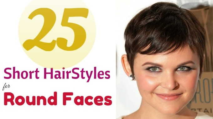 Top 25 Short Hairstyles For Round Faces 2015 - Youtube in Hairstyle For Round Face Easy