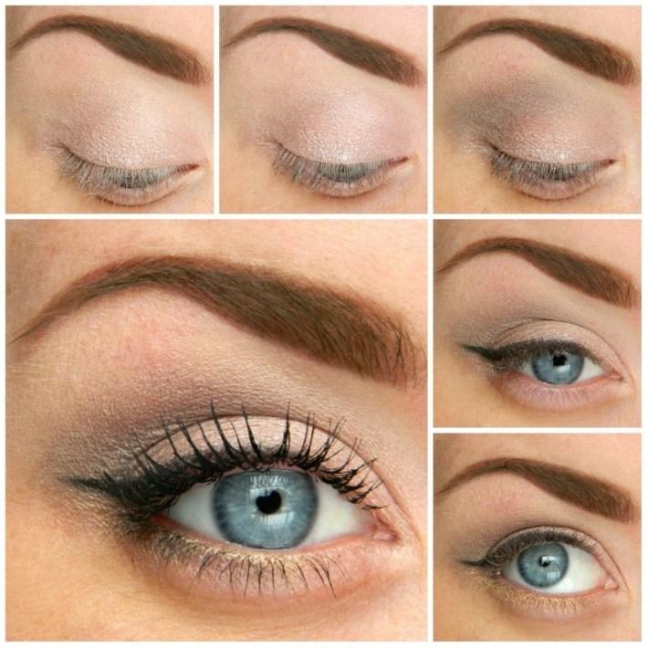 natural makeup tutorial for hazel eyes – wavy haircut
