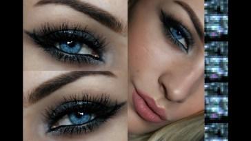 Eyeshadow For Blue Eyes | Silver Smokey Eye Tutorial - Youtube with regard to How To Apply Smokey Eye Makeup For Blue Eyes