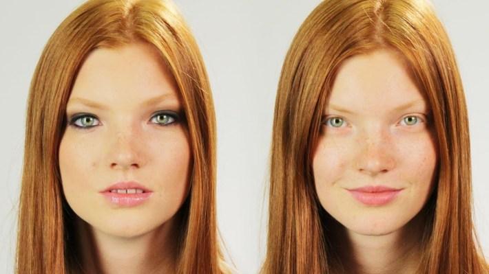 famous models before and after makeup   saubhaya makeup