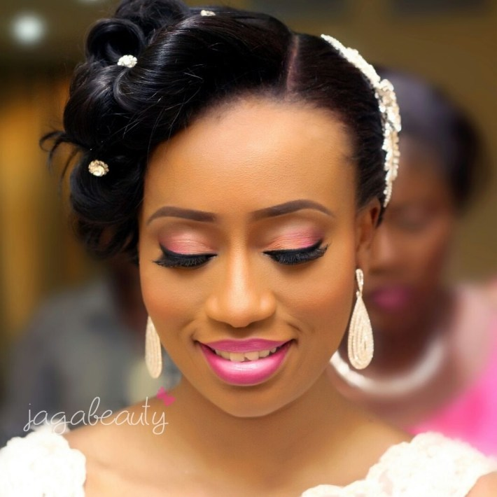 nigeria white wedding makeup pictures – wavy haircut