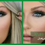 Olive Green Smokey Eye | Makeup Tutorial - Youtube intended for Makeup Tutorial For Green Eyes Blonde Hair