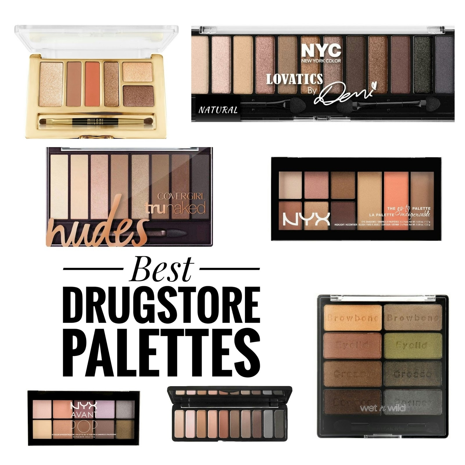 best drugstore eyeshadow palettes for green eyes - wavy haircut