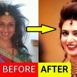 Top 10 Famous Indian Tv Actresses Without Makeup Look Will Shock You throughout Famous Actresses Before And After Makeup