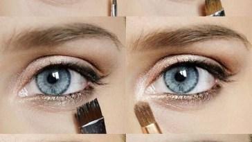 20 Amazing Eye Makeup Tutorials Ideas 3 20 Amazing Eye Makeup inside How To Apply Eye Makeup For Blue Eyes