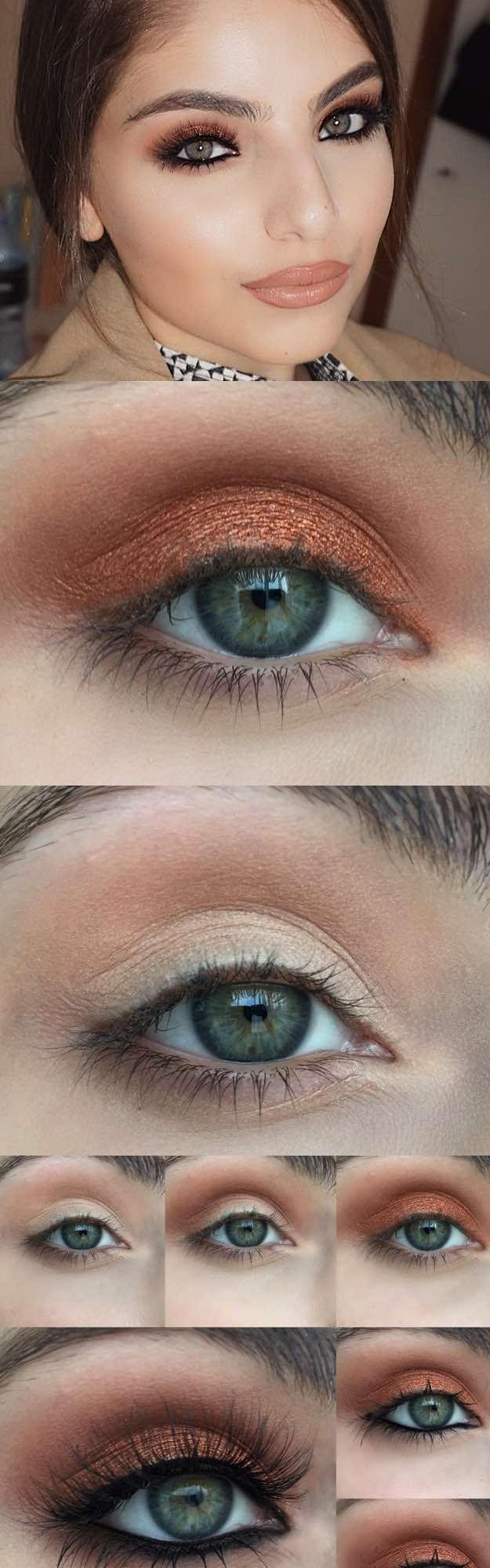 makeup tutorial pale skin green eyes | saubhaya makeup