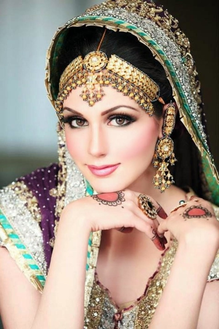 Dulhan Makeup Ideas 2014 For Girls Hd Wallpapers Free Download pertaining to Bridal Makeup Images 2014