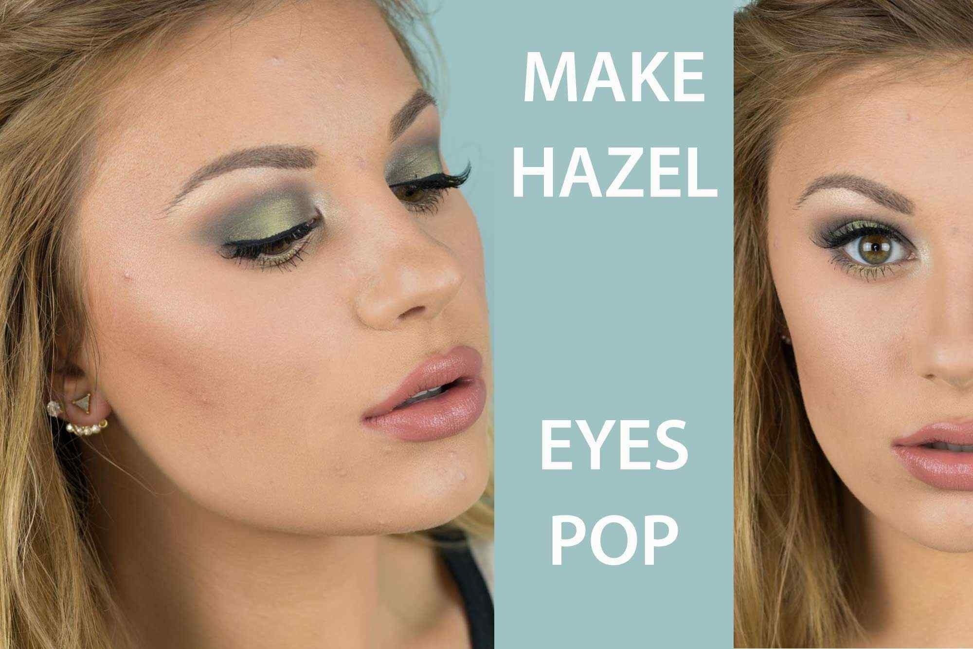 how to do makeup for hazel eyes and blonde hair – wavy haircut