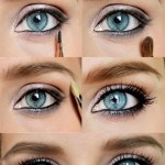 Lovely Makeup Tutorials For Blue Eyes   Makeup   Eye Makeup, Beauty with How To Apply Eyeshadow For Blue Eyes