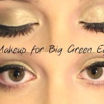 Makeup For Big Green Eyes : My Friends Maddie's Makeup - Youtube inside How To Do Makeup For Big Green Eyes