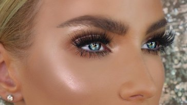 Makeup For Blue Eyes: 5 Eyeshadow Colors To Make Baby Blues Pop with Best Eyeshadow Colors Blue Eyes Blonde Hair