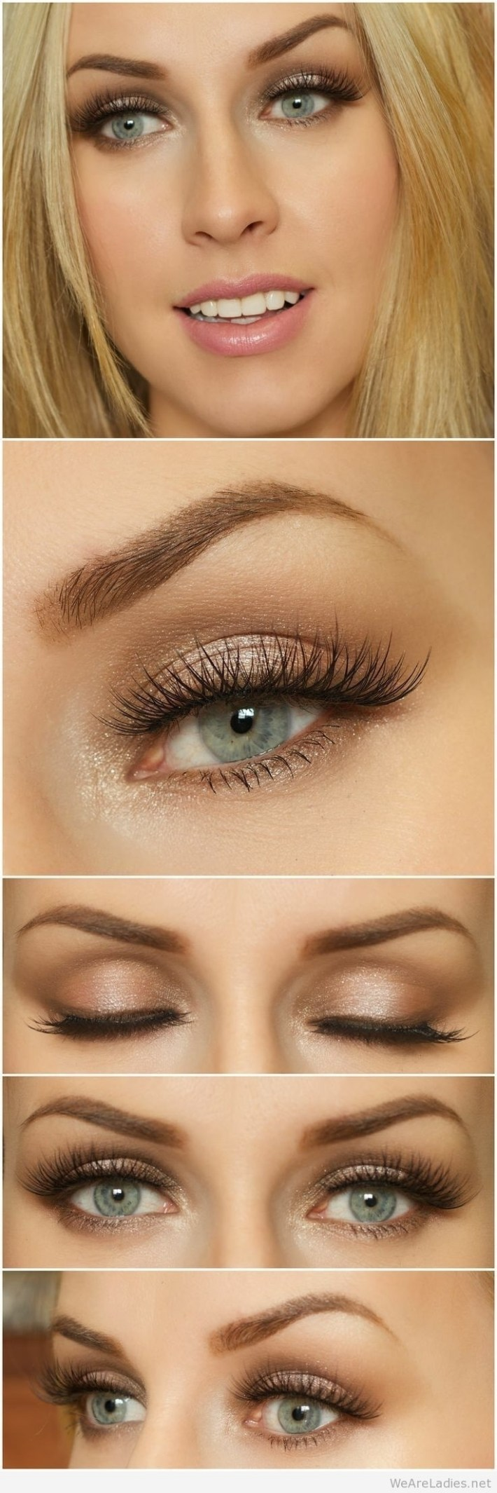 best color eyeshadow for green eyes and blonde hair - wavy