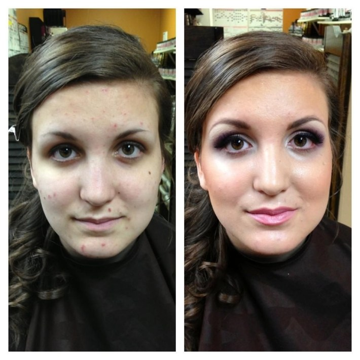 Pin By Dinair Airbrush Makeup On Dinair Before & After | Best inside Airbrush Makeup Pictures Before And After