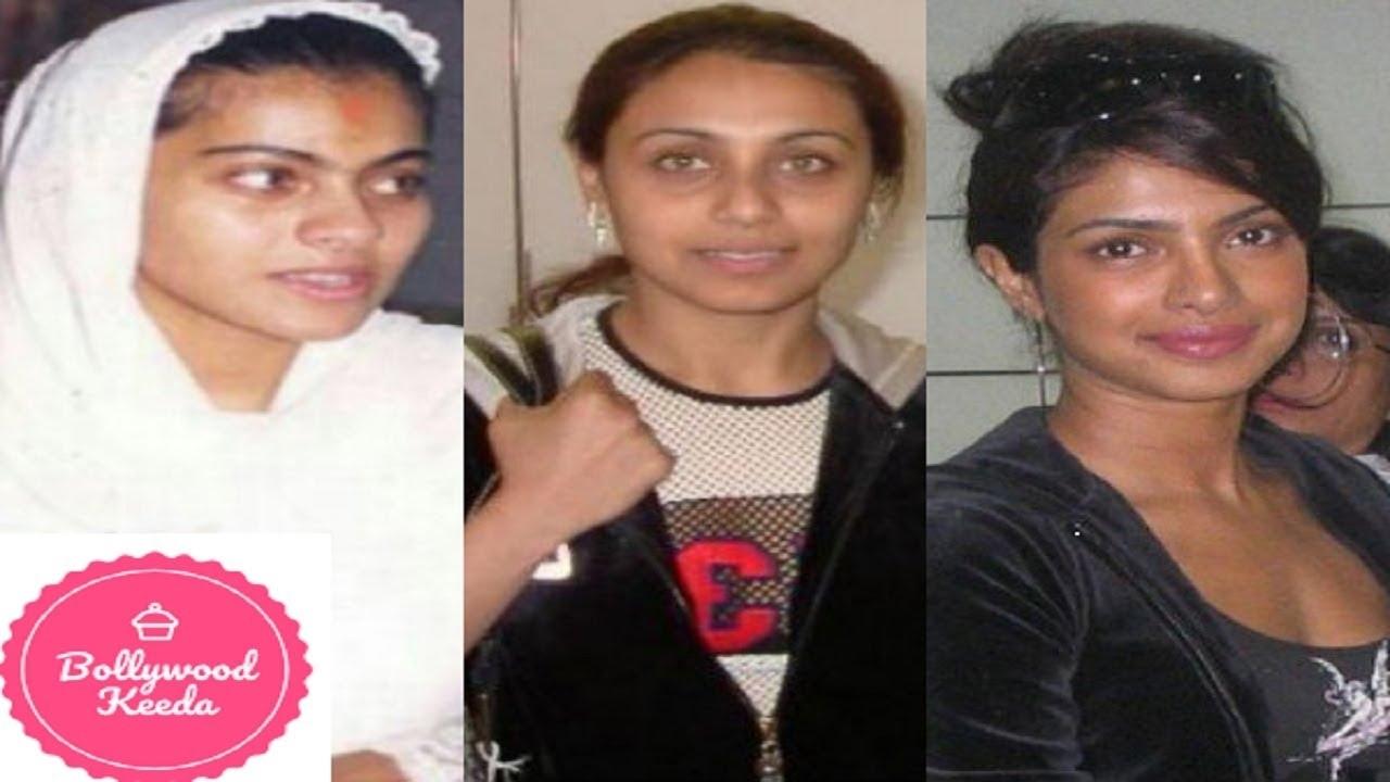 bollywood actresses without makeup photos 2011 - wavy haircut