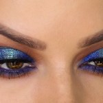 Two-Toned Blue Eyeshadow Makeup Tutorial | Shonagh Scott | Showme Makeup intended for Makeup Tutorial For Blue Eyeshadow